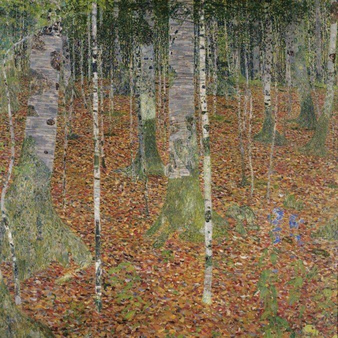 artland-poster-leinwandbild-klimt-gustav-birkenwald-landschaften-wald-malerei-braun.jpg
